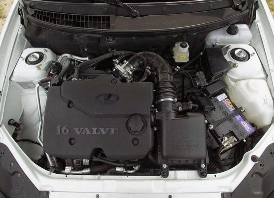 Двигатель 106 лада веста
